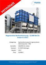 Gebrauchtanlage Abluftreinigung RNV, 15.000 Nm³/h