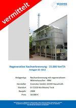 Gebrauchtanlage Abluftreinigung RNV 15.000